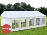 6X10 M CORT EVENIMENTE PROFESIONAL ECONOMY, PVC 500 g/m² ALB