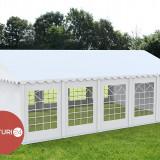 6X10 M CORT EVENIMENTE PROFESIONAL ECONOMY, PVC ALB - Pavilion gradina