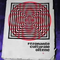 Rezonante culturale oltene - Studiu literar