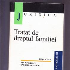 TRATAT DE DREPTUL FAMILIEI - Carte Dreptul familiei