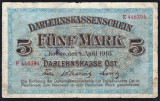Germania 5 Mark Kowno Ocup. Germana in Lituania s446394 1918 P#R130