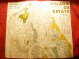 Harta pt. Concurs Orientare Turistica - Poiana cu Cetate -UTC Comitet Jud.Iasi