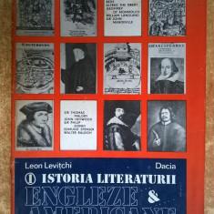 Leon Levitchi – Istoria literaturii engleze & americane, vol. 1