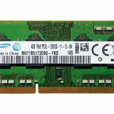 Ram laptop Samsung 4GB PC3-12800 DDR3 1600Mhz M471B5173DB0 PC3L Low 1.35V Sodimm, 4 GB, 1600 mhz
