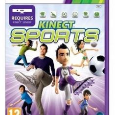 Kinect Sports (Kinect) - XBOX 360 [Second hand] - Jocuri Xbox 360, Sporturi, 12+, Multiplayer