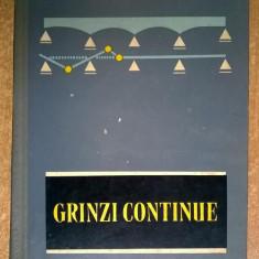 Constantin N. Avram - Grinzi continue {tabele de calcul}