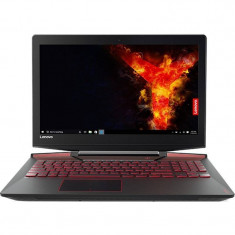 Laptop Lenovo Legion Y720-15IKB 15.6 inch Full HD Intel Core i7-7700HQ 16GB DDR4 1TB HDD 512GB SSD nVidia GeForce GTX 1060 6GB Black, 16 GB, 1 TB