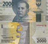INDONEZIA 2.000 rupiah 2016 UNC!!!