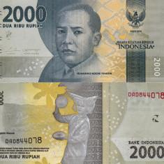 INDONEZIA 2.000 rupiah 2016 UNC!!! - bancnota asia