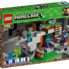 LEGO Minecraft - Pestera cu zombi 21141
