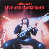 Thin Lizzy ‎– Live and Dangerous (2 LP - Germania - VG), VINIL
