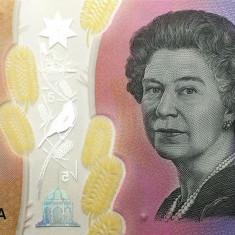 Bancnota Australia 5 Dolari 2016 - PNew UNC ( polimer )