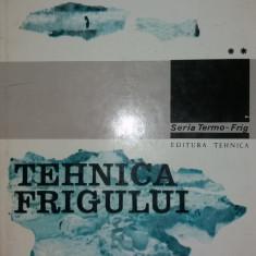 TEHNICA FRIGULUI – VOL. II