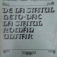 M. MUSAT – I. ARDELEANU – DE LA STATUL GETO-DAC LA STATUL ROMAN UNITAR