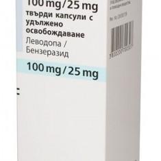 MADOPAR DEPOT capsule cu eliberare prelungita 100 mg/25 mg
