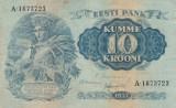 Estonia   10 Krooni 1937   P.67   VF