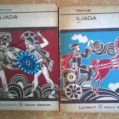 Homer – Iliada {2 volume, col. Lyceum} - Roman
