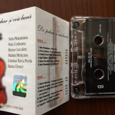 De pahar si voie buna vol 2 caseta audio muzica populara lautareasca 2005, Casete audio