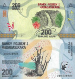 MADAGASCAR 200 ariary ND (2017) UNC!!!