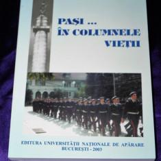 Viorel Ciobanu Pasi in columnele vietii Liceul Militar Dimitrie Cantemir Breaza - Istorie