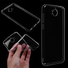 Husa silicon HUAWEI Y5 2017 subtire transparenta - Husa Telefon, Maro