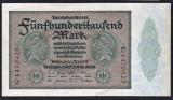 Germania 500.000 Mark REICHSBANKNOTE s1470425 1923
