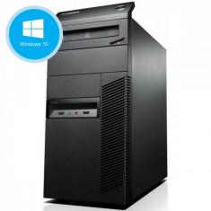 Calculator Refurbished Lenovo ThinkCentre M83 Tower, Intel Core i3-4130 3.40 GHz , 4 GB DDR3, 500 GB HDD, Windows 10 Pro preinstalat