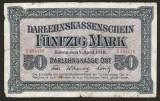 Germania 50 Mark Marci Kowno - Ocupatia Germana in Lituania s284146 1918 P#R132
