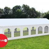 6x14 M CORT EVENIMENTE PREMIUM, PVC ALB - Pavilion gradina