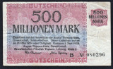 Germania 500.000.000 Mark  HAMBORN-AUG.THYSSEN HUTTE s080296 1923