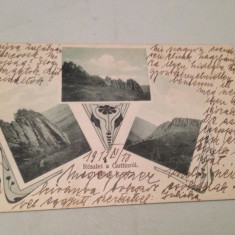 Baia Sprie Maramureș Guttin 1912 - Carte Postala Maramures pana la 1904, Circulata, Fotografie
