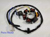 Magnetou - Stator - Aprindere Scuter Peugeot SQUAB - 6 bobine - d=83mm