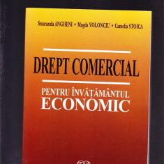 DREPT COMERCIAL -PENTRU INVATAMANTUL ECONOMIC - Carte Drept comercial