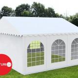 4X6 M CORT EVENIMENTE PREMIUM, PVC ALB - Pavilion gradina