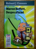 Richard J. Connors - Warren Buffett. Despre afaceri