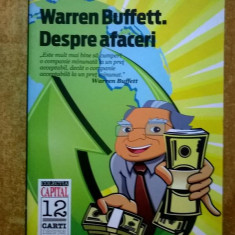 Richard J. Connors - Warren Buffett. Despre afaceri