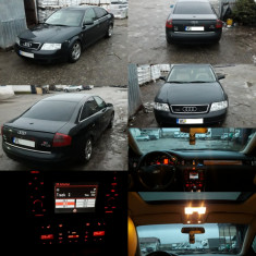 Audi A6 2.5 Quattro / 180 Cp / S-Line, An Fabricatie: 2001, Motorina/Diesel, 27000 km, 2500 cmc