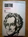 Goethe - Poeme epice {Opere 8}