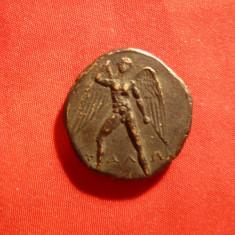 Moneda bronz -Creta- Phaistos -COPIE - avers Tales cu aripi, revers Taur 280 ien - Moneda Antica