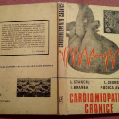 Cardiomiopatiile Cronice  - L. Stanciu, L. Georgescu, I. Branea, R. Avram, Alta editura