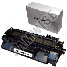 Cartus toner negru compatibil imprimante LaserJet HP Seria 1320/N/TN/NW, Seria P2015/D/N/DN/X/, M2727NF/nfs/MFP si Canon LBP3300