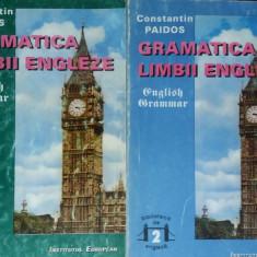 CONSTANTIN PAIDOS – GRAMATICA LIMBII ENGLEZE – 2 VOLUME