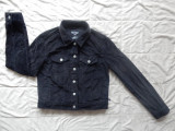 Jacheta raiata Polo Jeans CO Ralph Lauren; marime M, vezi dimensiuni exacte