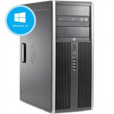 Calculator Refurbished HP 6200 Pro Tower, Intel Core i3-2100, 4GB Ram DDR3, Hard Disk 250GB, DVD, Windows 10 Pro Refurbished Preinstalat