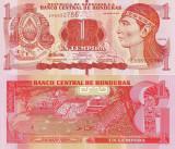 HONDURAS 1 lempira 2012 UNC!!!