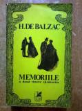 Honore de Balzac – Memoriile a doua tinere casatorite, Honore de Balzac
