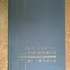 Indrumator matematic si tehnic
