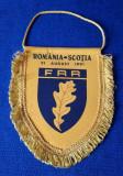 Fanion Rugby Romania - Scotia 1991 FRR