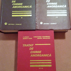 Tratat De Chimie Anorganica. 3 Volume - D.Negoiu, P. Spacu - Carte Chimie