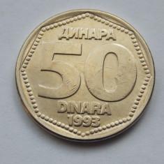50 DINARI 1993 IUGOSLAVIA, Europa